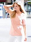 Anna Aura - T-shirt med rund halsudskæring