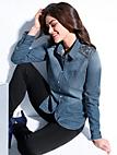 Emilia Lay - Jeansskjorte