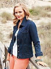 Anna Aura - Jeansjakke