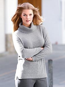 Anna Aura - Strikbluse i  kashmir – model RAYA