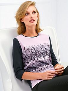 Basler - Bluse med rund halsudskæring