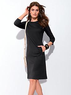 Bogner - Jerseykjole med 3/4 ærmer.