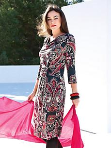 Emilia Lay - Jerseykjole med 3/4-lange ærmer