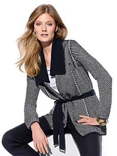 Escada Sport - Strikket jakke med strikket bælte