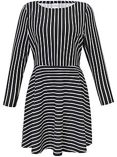JUNAROSE - Langærmet kjole