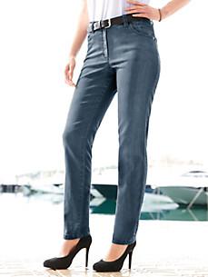 KjBrand - Ankellange jersey-jeans