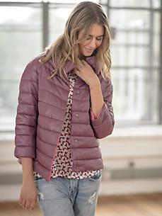 LIEBLINGSSTÜCK - Quiltet jakke i A-snit med 3/4-lange raglanærmer