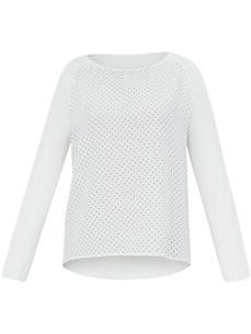 Samoon - Bluse-shirt i materialemiks