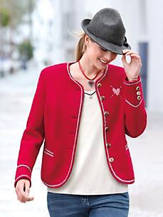 Steinbock - Valket jakke af 100% ren ny uld