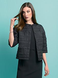 Strenesse - Quiltet jakke med 3/4-ærmer