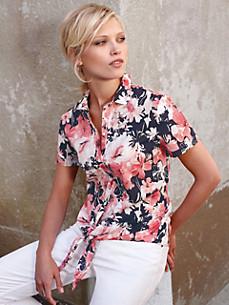 Uta Raasch - Bluse med med korte ærmer