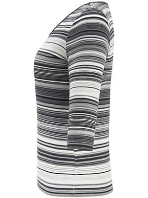 Anna Aura - Shirt med rund hals og 3/4-lange ærmer