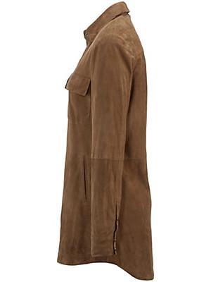 Anna Aura - Skindskjorte af gederuskind