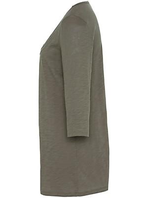 Anna Aura - T-shirt med 3/4-ærmer af 100 % bomuld.