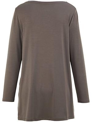 Anna Aura - T-shirt med rund hals i A-facon