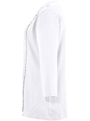 Anna Aura - T-shirt med rund hals og 3/4 ærmer
