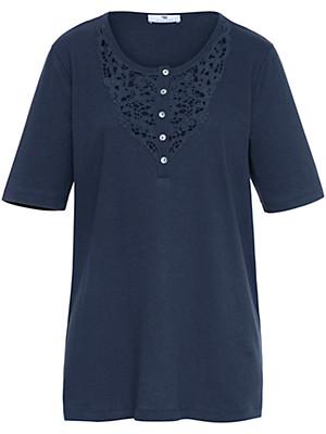 Anna Aura - T-shirt med rund hals og korte ærmer