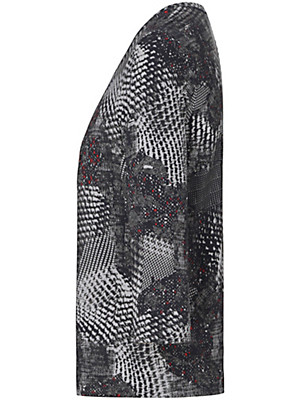 Basler - Bluse med rund hals med 3/4-ærmer