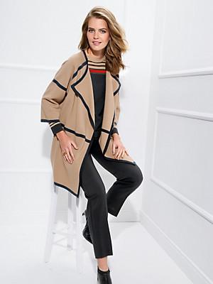 Basler - Strikfrakke 100% ren ny uld