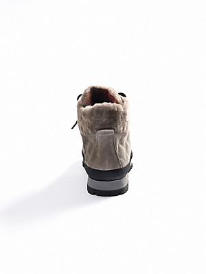 Bogner - Snørestøvletter af kalveruskind