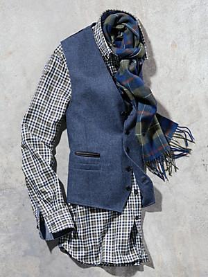 Carl Gross - Vest 100% ren ny uld