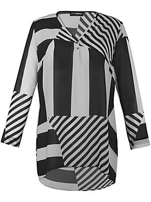 Doris Streich - Bluse med V-udskæring