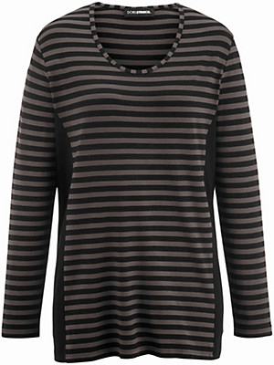 Doris Streich - Løstsiddende t-shirt med rund hals