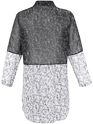 Doris Streich - Lang skjorte i patchwork-stil
