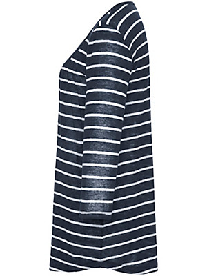 Emilia Lay - Bluse med rund hals
