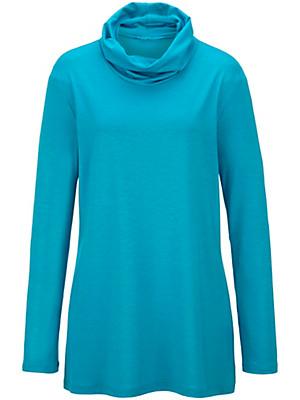 Emilia Lay - Rullekrave-shirt i A-facon