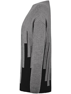 Emilia Lay - Strikbluse af 100% ren uld