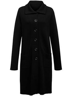 Emilia Lay - Strikfrakke med spadekrave