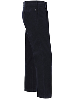 Eurex by Brax - Fløjlsbukser med læg - model LUIS