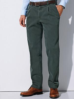 """Eurex by Brax - Jeans med læg i taljen af """"Coloured Denim"""""""