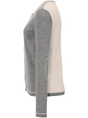 FLUFFY EARS - Cardigan af 100% kashmir