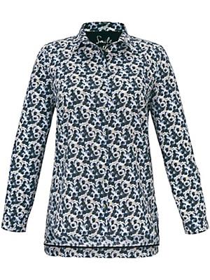 FRAPP - Bluse af 100% bomuld