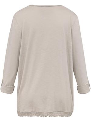 FRAPP - Bluse med rund hals