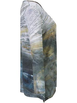 FRAPP - Bluse med trendy print