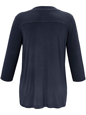 FRAPP - V-shirt med 3/4-ærmer