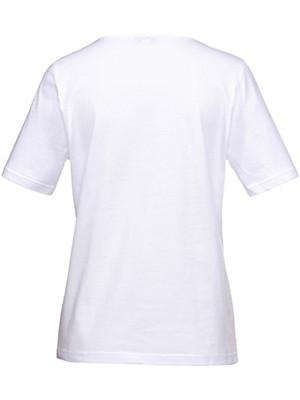 Green Cotton - T-shirt med V-hals