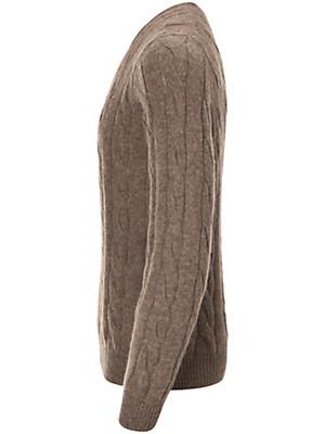 Inkadoro - Bluse med rund hals af 100% alpaka