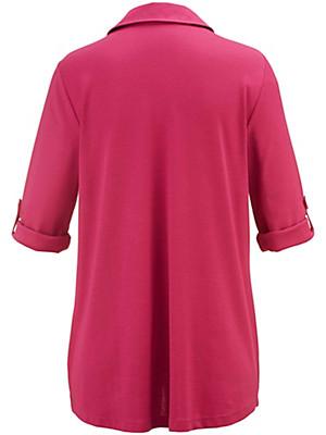 Inkadoro - Jerseyskjorte med 3/4-ærmer