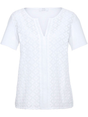 Just White - Bluse 1/2 arm