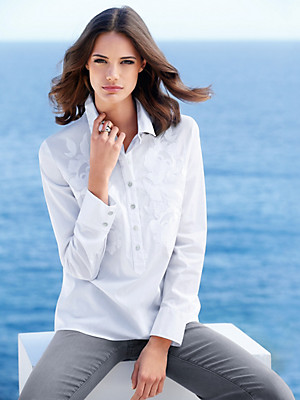 Just White - Bluse