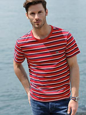 Lacoste - T-shirt med rund hals