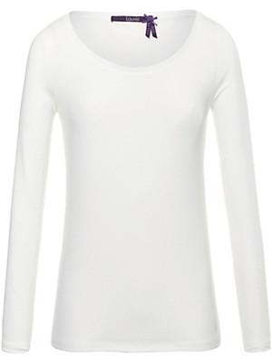 Laurèl - Shirt med rund hals og Swarovski-krystaller