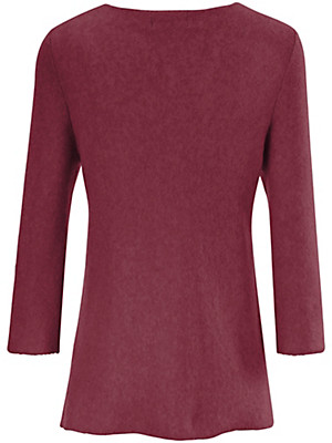 LIEBLINGSSTÜCK - Bluse i A-snit med ærmer med vidde