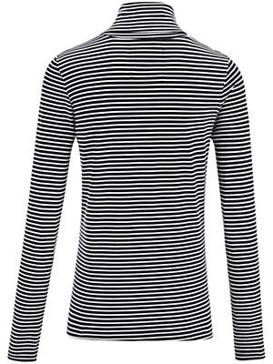LIEBLINGSSTÜCK - Rullekraveshirt med smalle striber