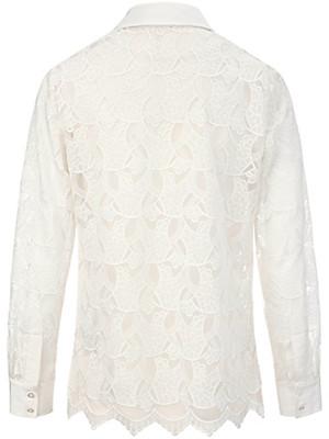 Peter Hahn - Blondeskjorte 100% silke