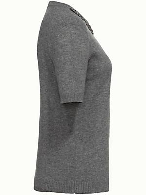 Peter Hahn Cashmere - Bluse med rund hals